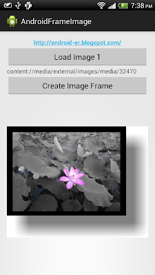 create shadow frame for image