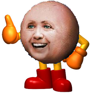 Hillary Clinton TIME Magazine Pac-Man