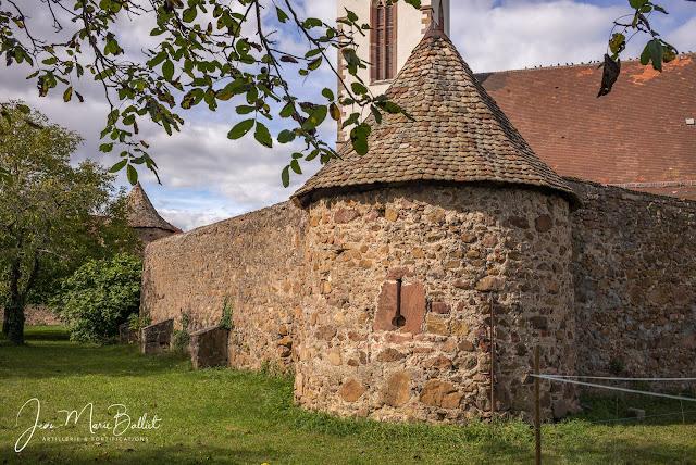 Cimetière fortifié d'Hartmannswiller — Tour de flanquement (angle sud-est)