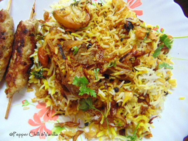 mutton biryani recipe,indian mutton biryani recipe