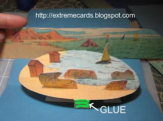 pop up beach diorama