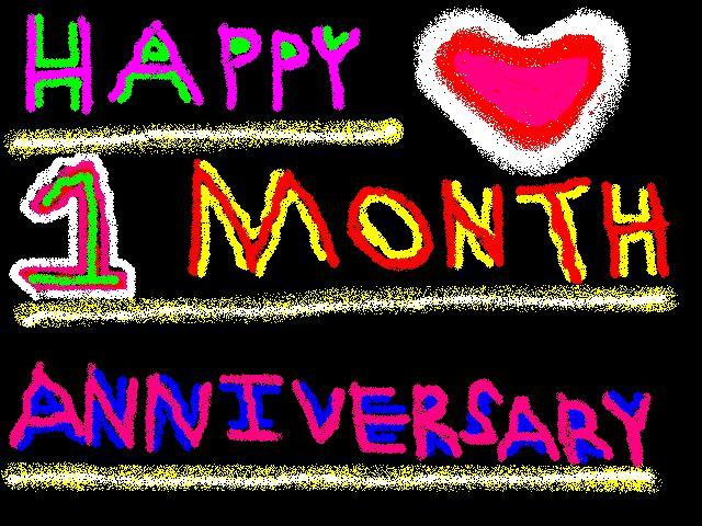 Weddings Gifts Wedding Gifts Anniversary Gifts Happy 1 Month Anniversary Graphics Happy Anniversary Is A Greeting 2011