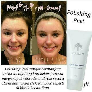 manfaat Nu Skin Polishing Peel mikrodermabrasi