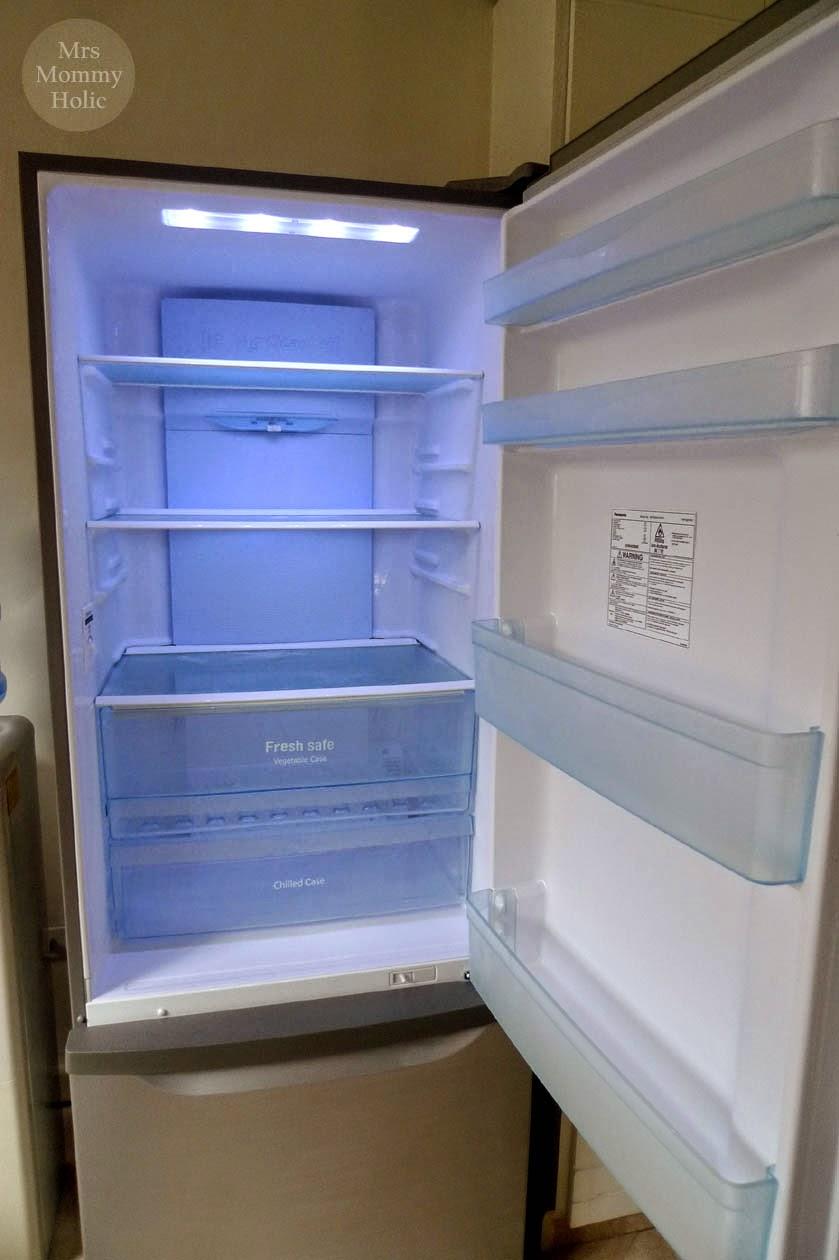 MrsMommyHolic: Our New Panasonic Inverter Refrigerator