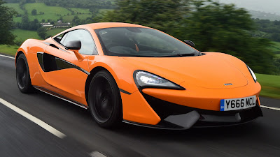 McLaren 570S Orange wallpaper