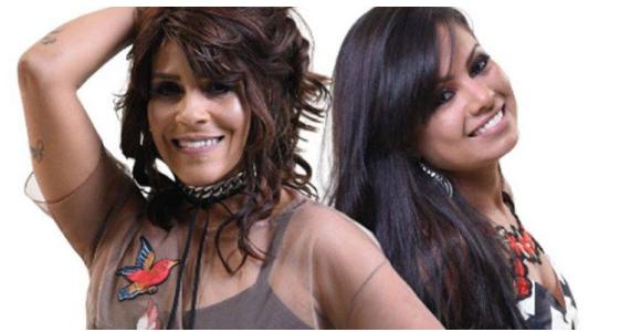 Cantoras Paulinha Abelha e Silvânia Aquino estão de volta à banda Calcinha Preta