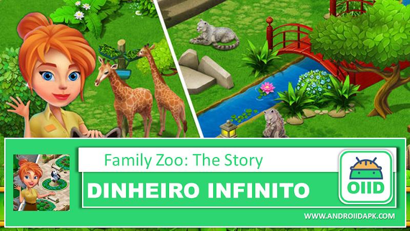 Family Zoo: The Story  – APK MOD HACK – Dinheiro Infinito