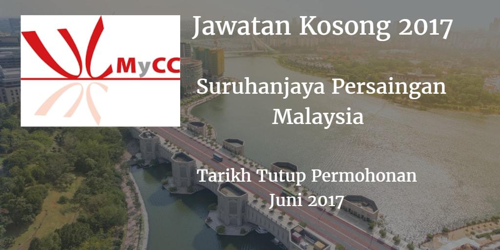 Jawatan Kosong MyCC Juni 2017