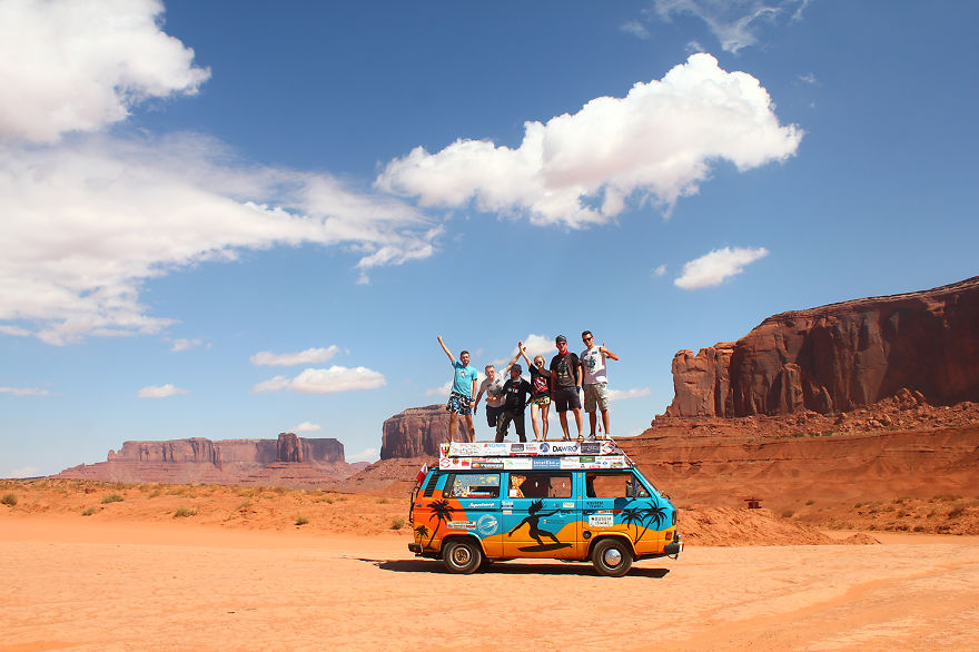 Visited the monument valley, USA - We Visited Over 50 Countries With Our Van Spending Only $8 A Day