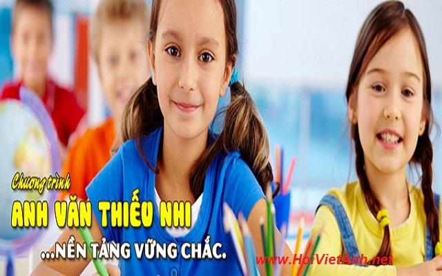 Khóa học ANH VĂN THIẾU NHI tại Hội Việt Anh VES