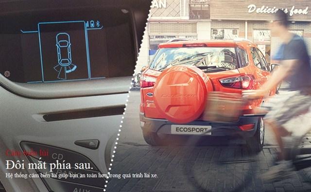 Ford Ecosport 2017 Modulo bên sau