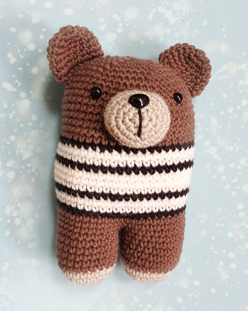 crochet doudou bébé