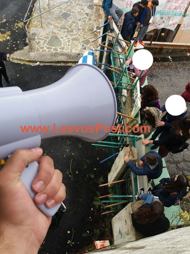 «Φουντώνει» το κύμα από καταλήψεις σε σχολεία για το Μακεδονικό! Κατάληψη και στο Λύκειο-Γυμνάσιο Άγρας! (φωτο)