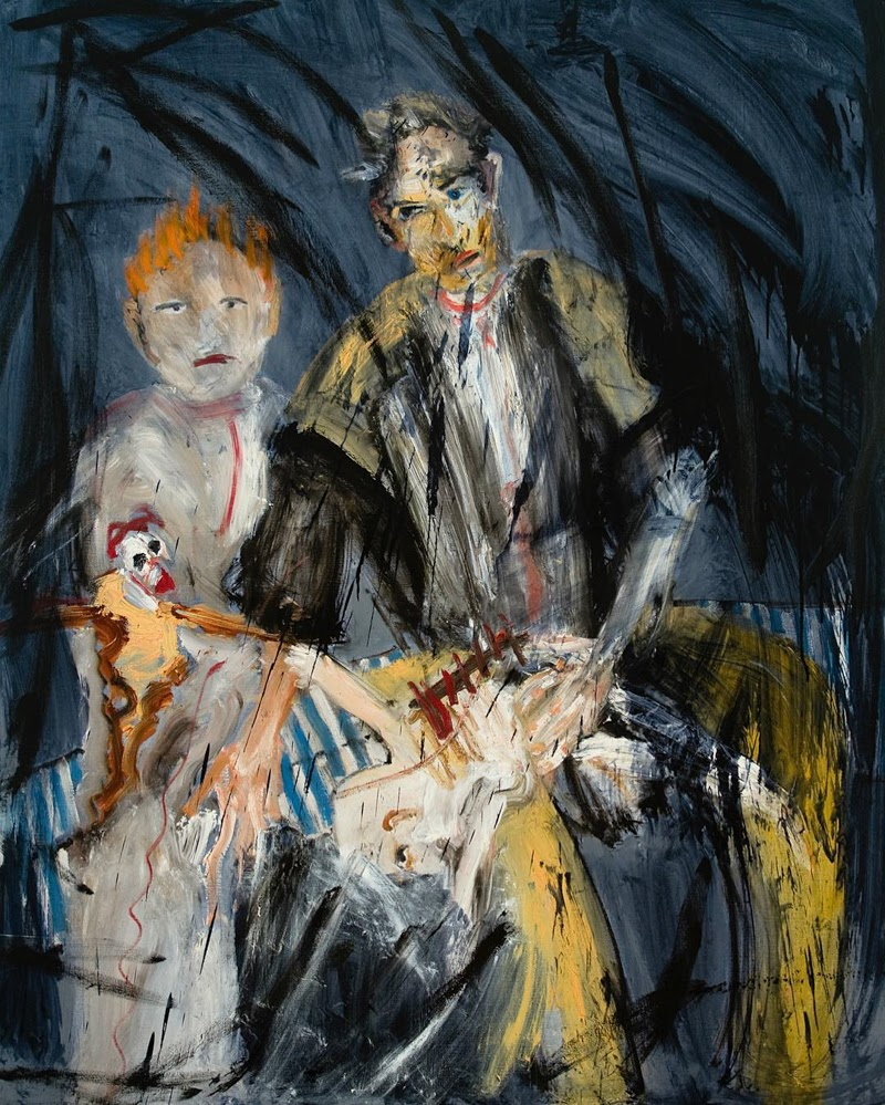 Paintings and Interview of Michael Hafftka from Brooklyn, New York.