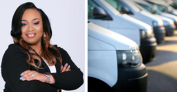 Nikisha Reagan, founder and CEO of NR Swanks Freight Brokerage