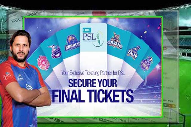 PSL Tickets 2019
