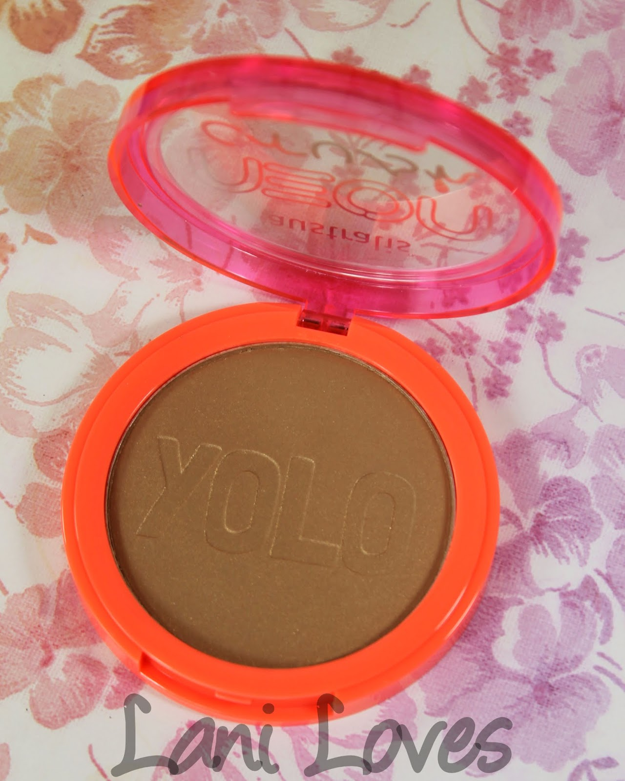 Australis Neon Crush: You Only Live Once Bronzer Swatches & Review