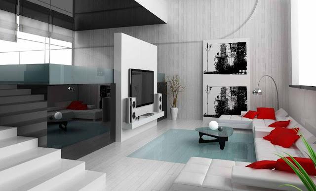 desain interior rumah mungil 2 lantai