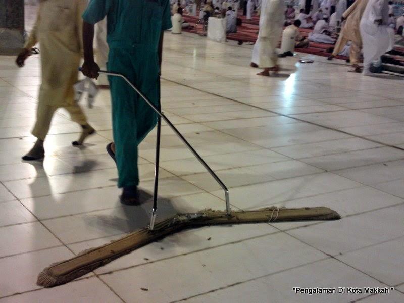 lantai licin mekah masjidil haram