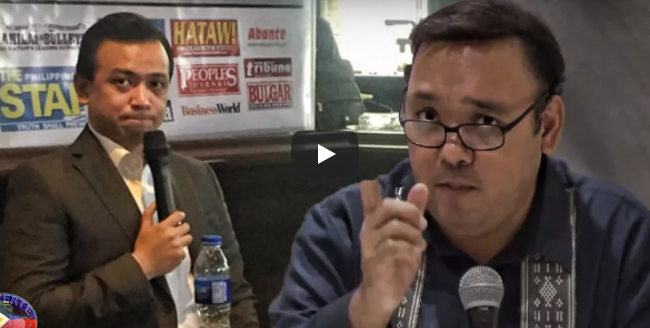 WATCH: Mabagsik at Patama ni Harry Roque Kay Trillanes Nag-trending