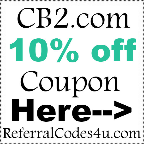 Cb2 discount coupon