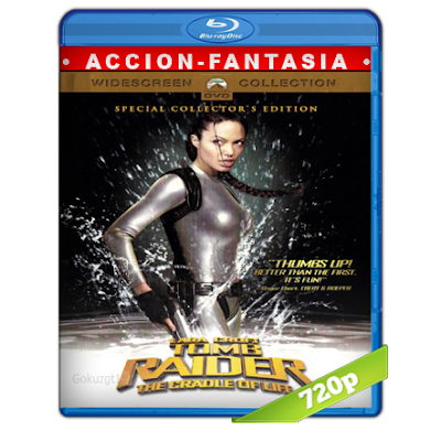 Lara Croft Tomb Raider 2 (2003) BRRip 720p Audio Trial Latino-Castellano-Ingles 5.1