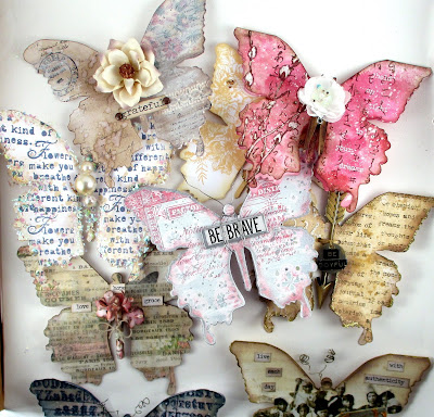 Sizzix Layered Butterfly for the Funkie Junkie Boutique