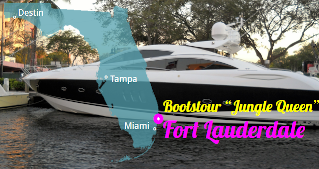 Bootstour in Fort Lauderdale