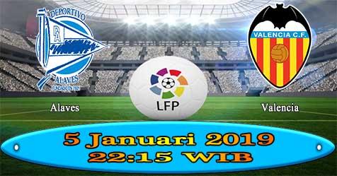 Prediksi Bola855 Alaves vs Valencia 5 Januari 2019