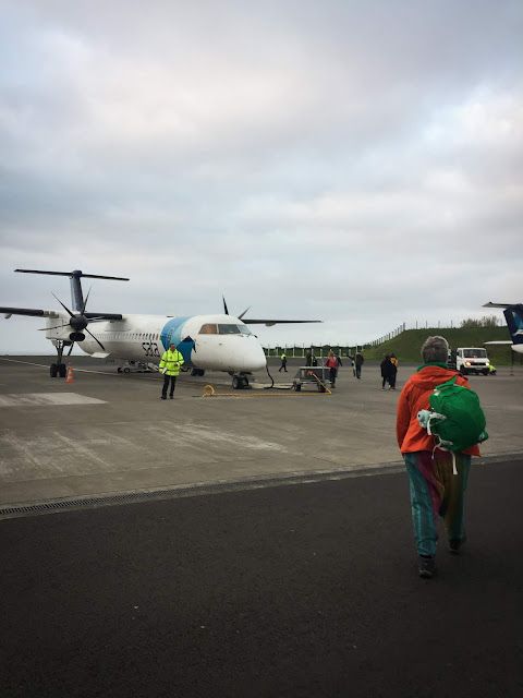 Leaving the Azores, on my way to Madeira