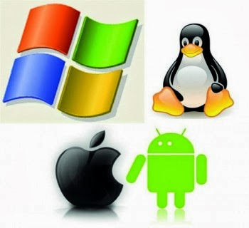 أنواع أنظمة التشغيل