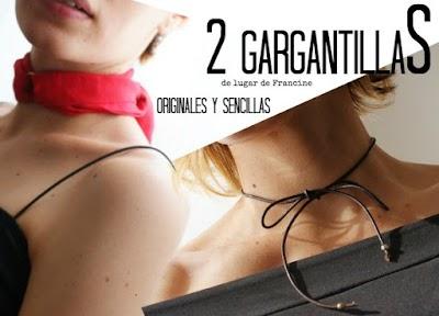 2 Gargantillas sugerentes para salir de un apuro