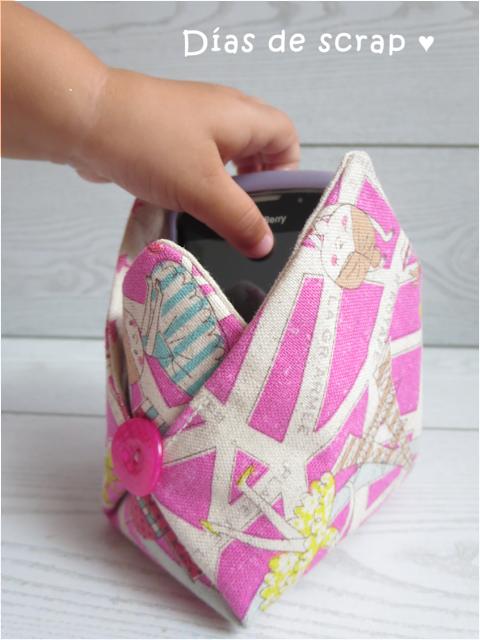 costura diy cesta multiusos hecho a mano