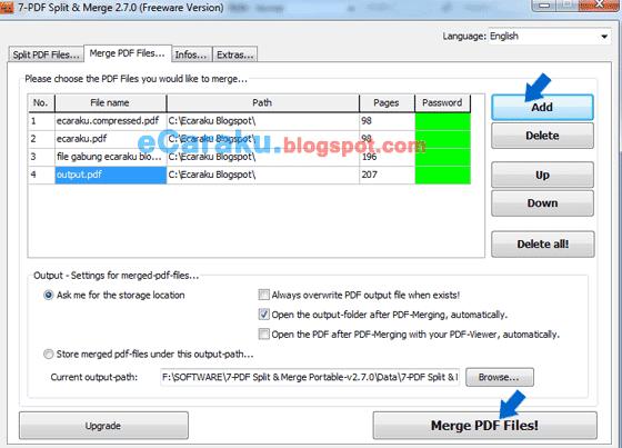 7-PDF Split & Merge Software Gratis Untuk Gabung dan Pisahkan Dokumen PDF