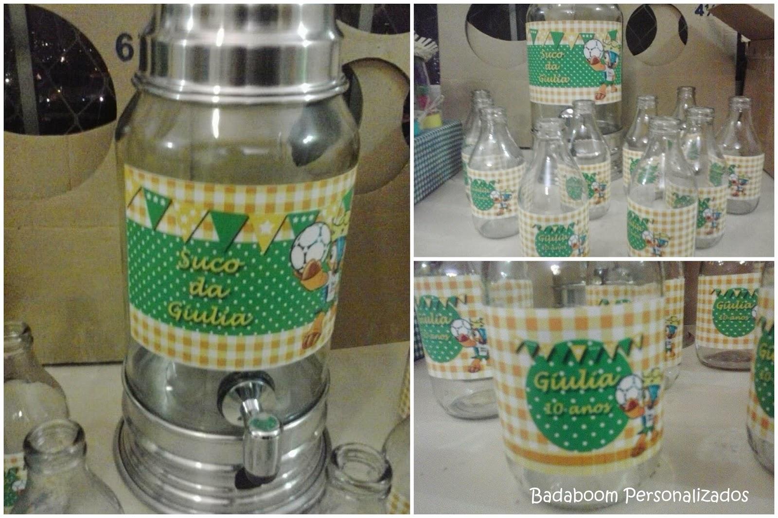 arte digital, kit digital, personalizados, suqueira, rótulos, garrafinhas de suco, Fuleco, Copa do Mundo 2014, Brasil