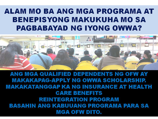 Are You A Member of OWWA? These are Your Benefits And How To Avail Them