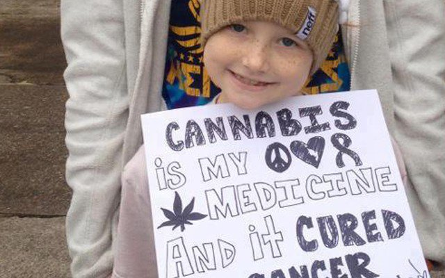 9 Year Old Girl Who Used Cannabis to Cure Her Cancer Shares A Message With the World