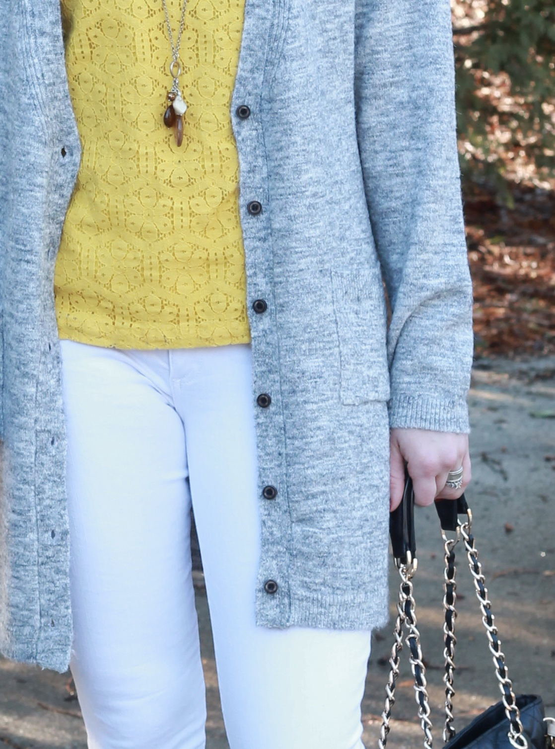 I do deClaire: Cozy Grey Cardigan