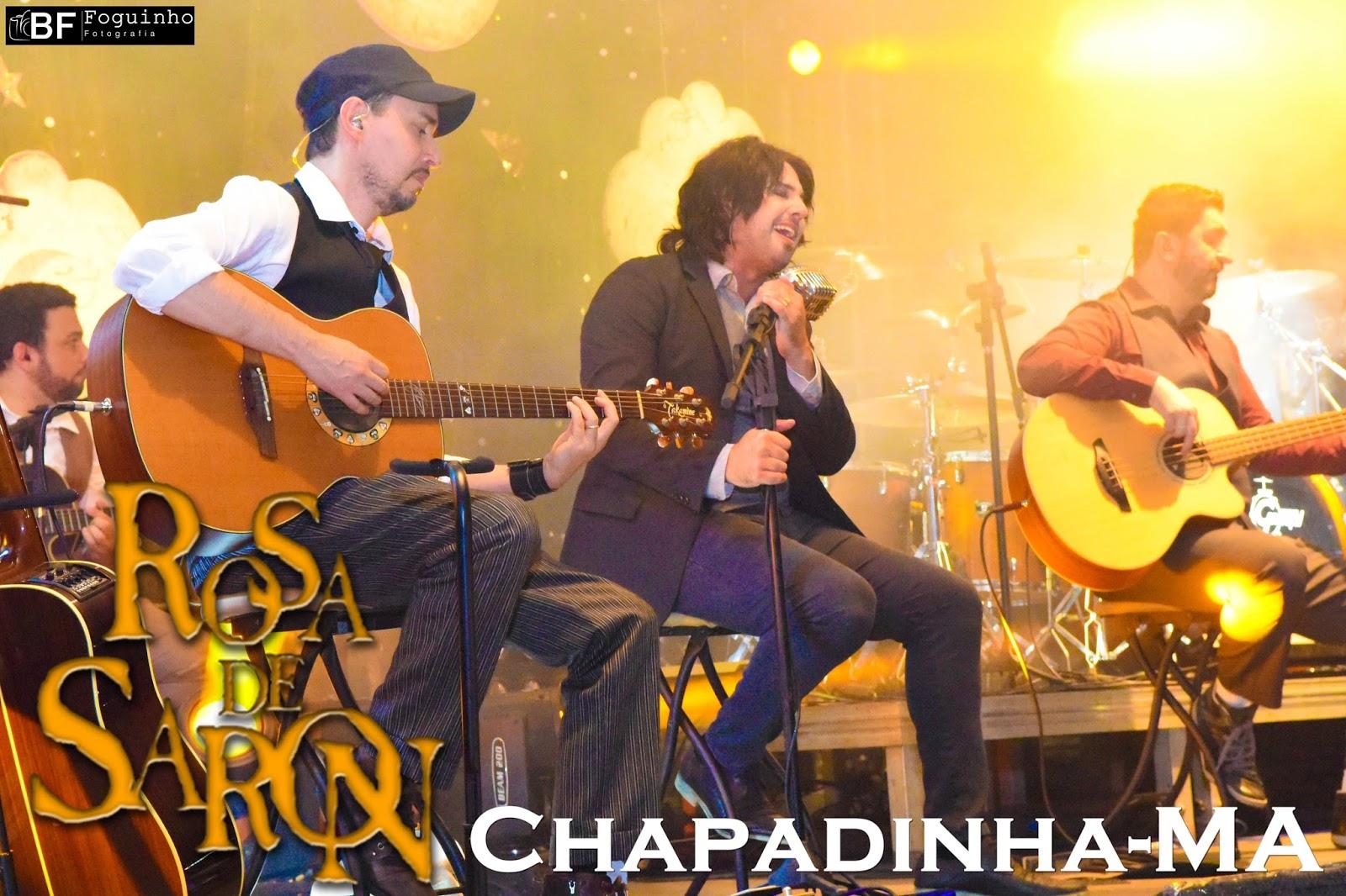 Banda Rosa de Saron faz grande show em Chapadinha.