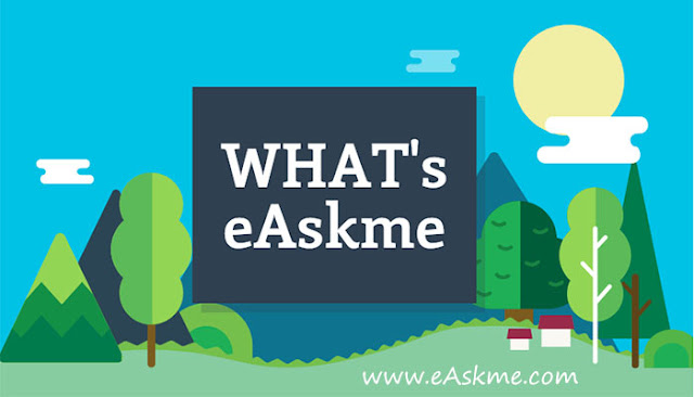 What is eAskme All About : Infographic: eAskme.com