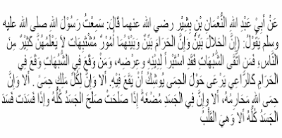 Halal Haram dan Subhat