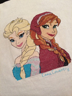 Frozen Cross Stitch