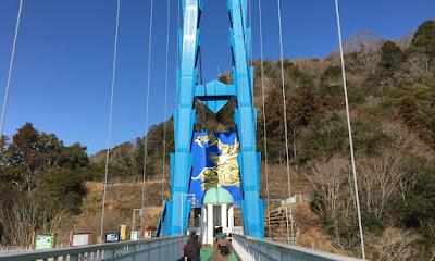 竜神大吊橋 向こう側の金竜