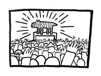 'Keith Haring: 1978-1982' Exhibit Opening in Brooklyn