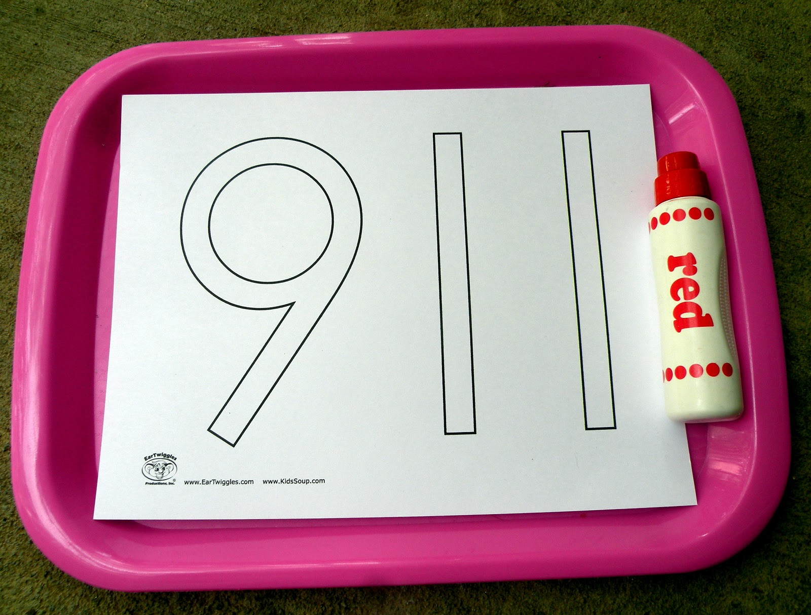 The Fantastic Five E Is For Emergency Tot Trays