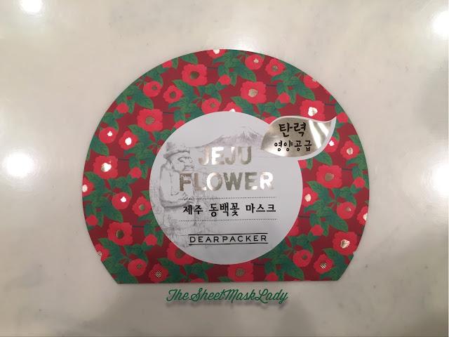 sheet mask, japanese camellia, camellia