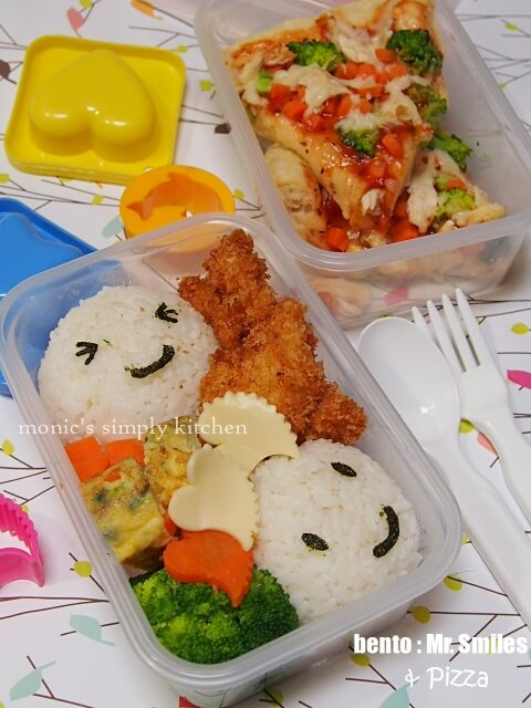 bento mr smiles n pizza