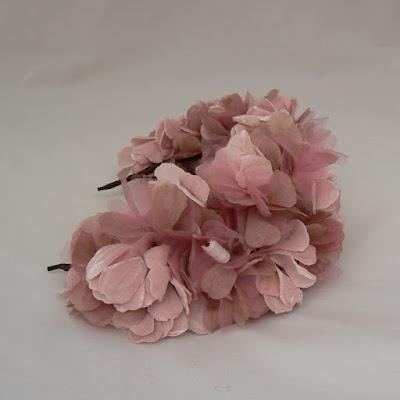 tocado rosa