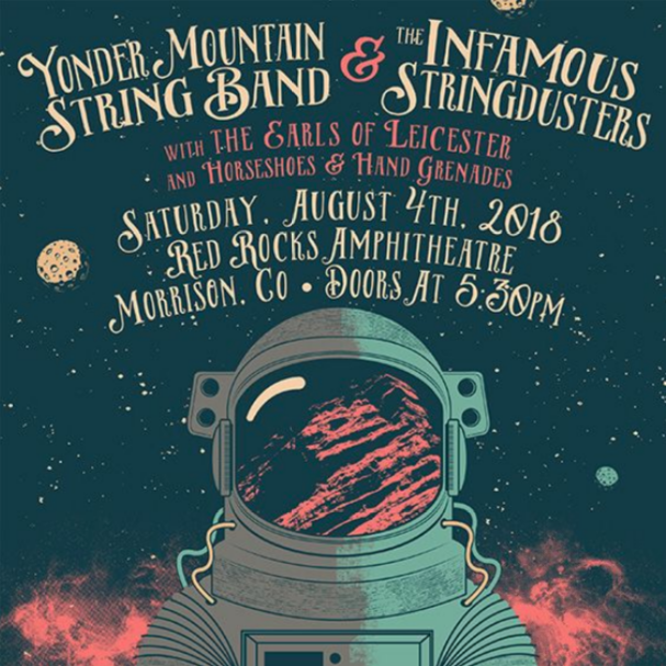 the curtain with  yonder mountain string band