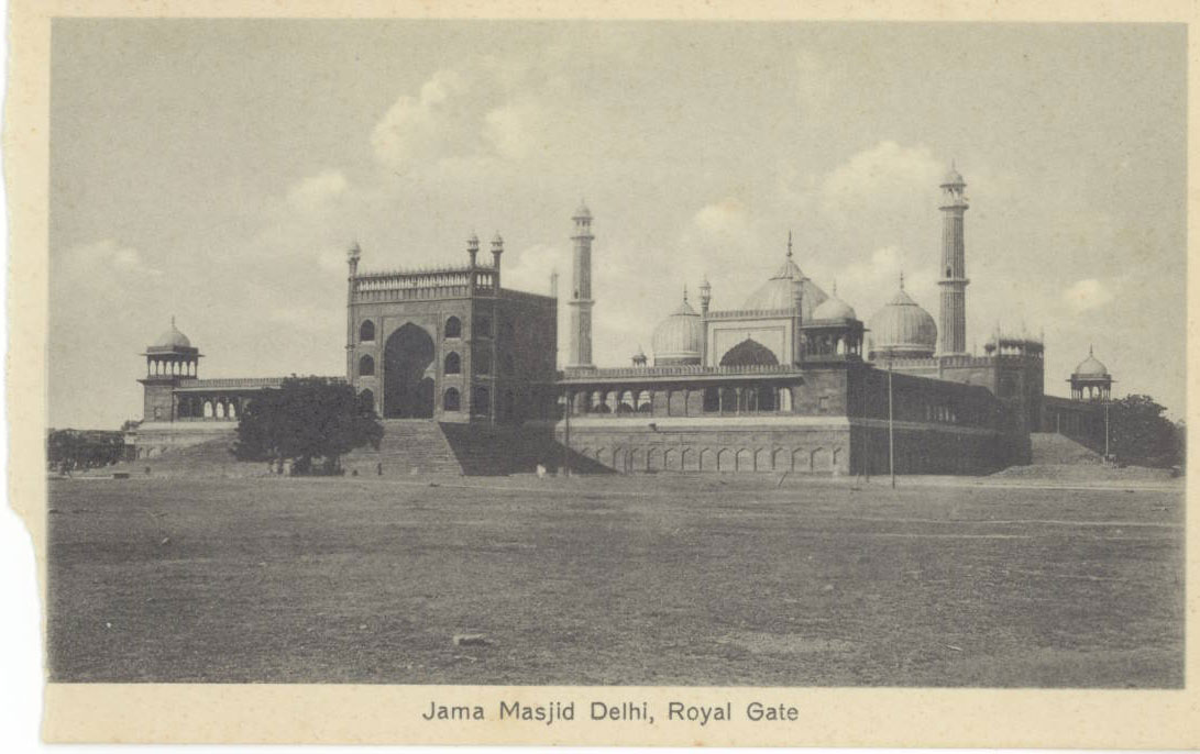 Jama Masjid Dehli, Royal Gate